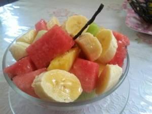 Ensalada de frutas de Ángeles Medina