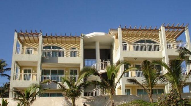 Beachfront 2 bedroom condo