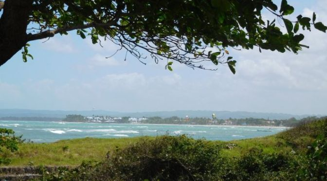 Beachfront land …..