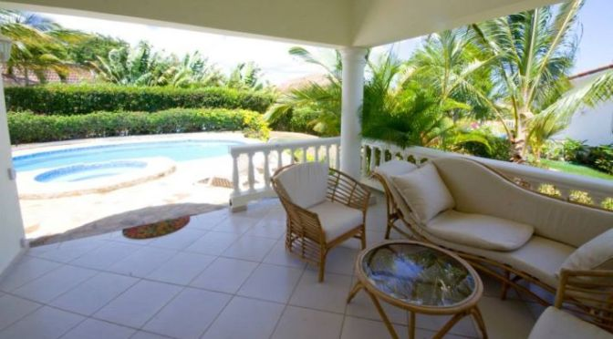 Ocean View Villa with Separate Apartment in Fantastic Community $US215,000
