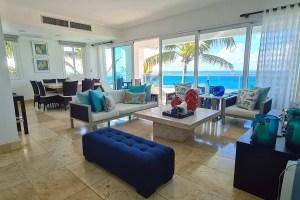 5 bed beachfront condo