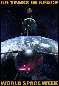 World Space Week Poster