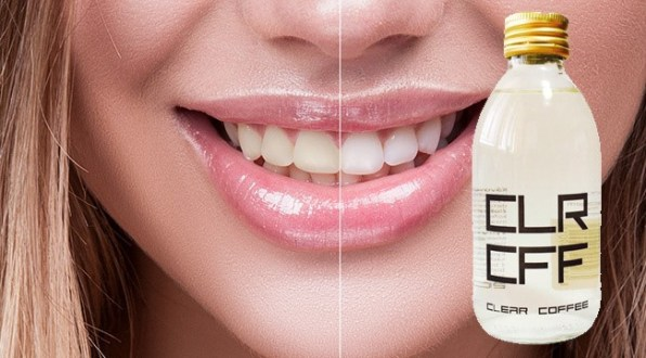 Clear Coffee – No more coffee stains on your teeth!