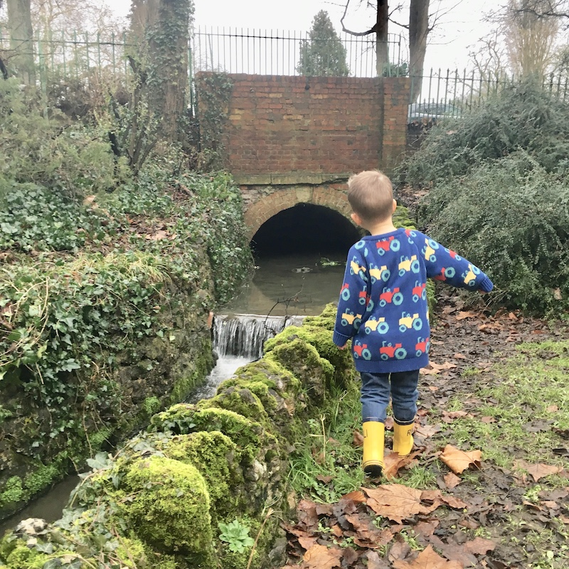 Ace wearing Farm Life Jumper by Kite Clothing, Cotswold Baby Co