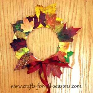 Autumn_Leaf_Wreath_6 Fun Autumn Activities that Toddlers and Kids will Love _Cotswold_Baby_Co