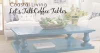 Coastal Coffee Table Ideas for Your Living Room | Cottage ...