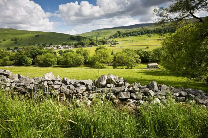 Yorkshire Countryside and Village