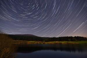 Star Trail photo taken in the Isle of Man (UK)