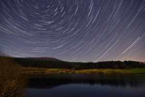 Star Trail photo taken in the Isle of Man (UK)