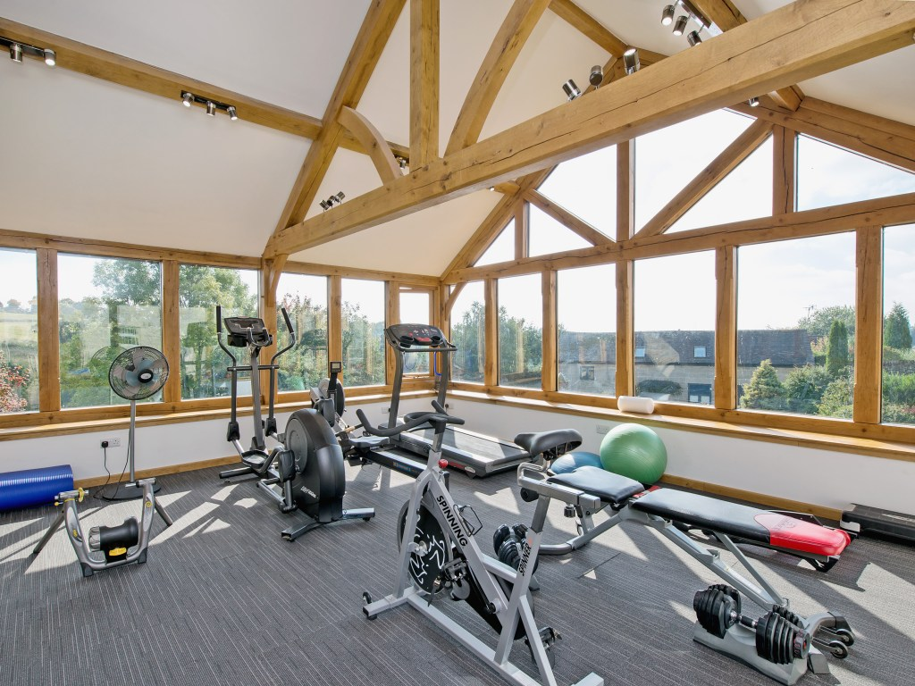Derbyshire holiday with gym