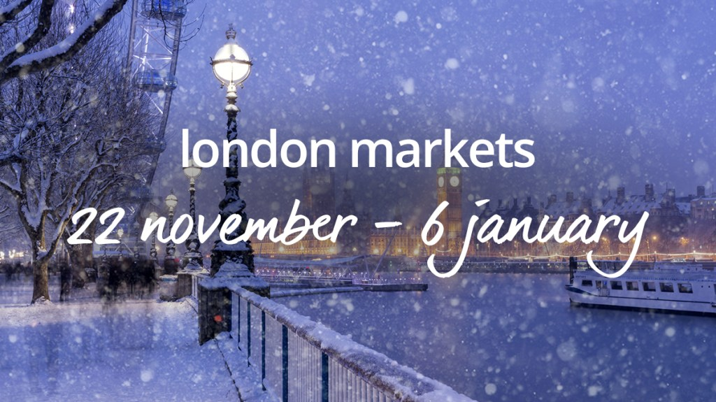 Book a Christmas market break in London with cottages.com