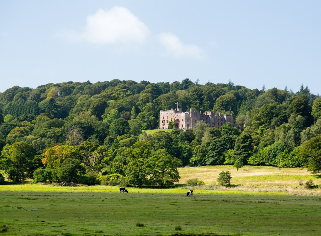Muncaster  Castle cycling