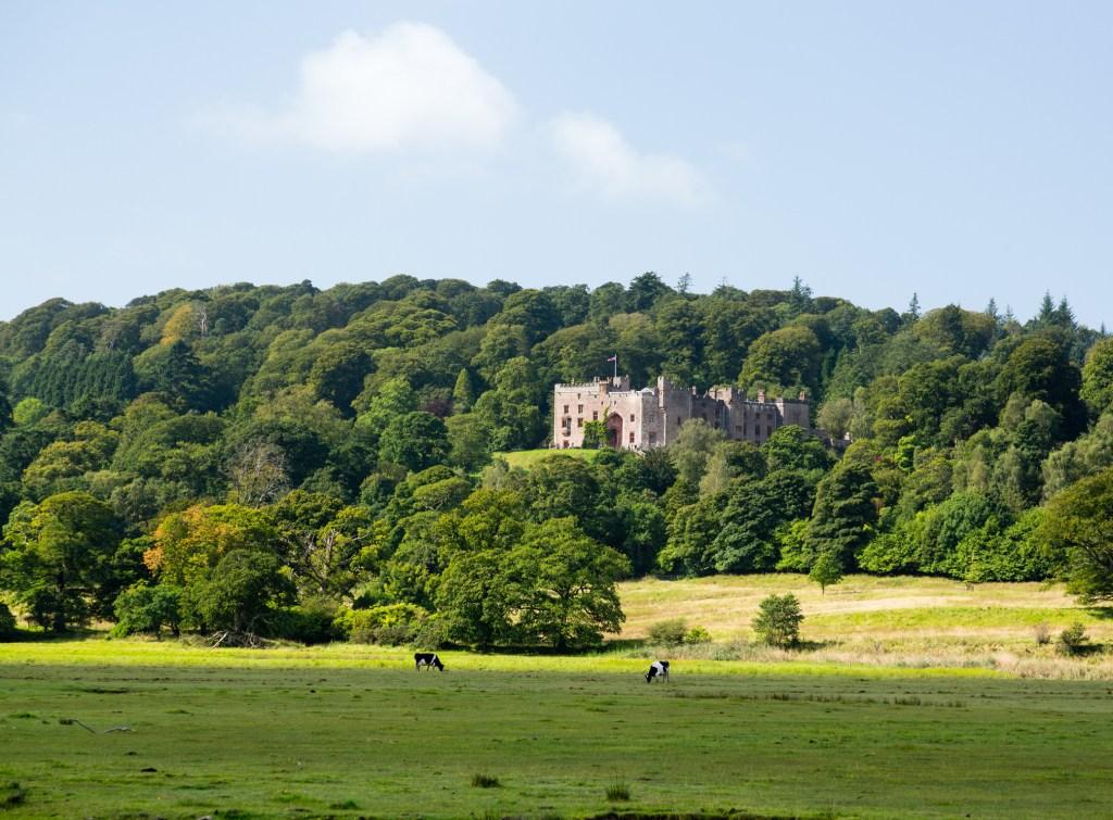 Muncaster  Castle cycling