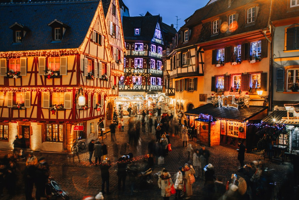Colmar xmas market autumn events in France