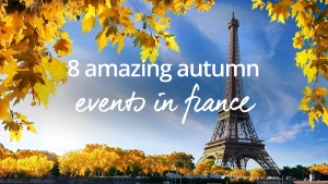 Autumn events in France 2018