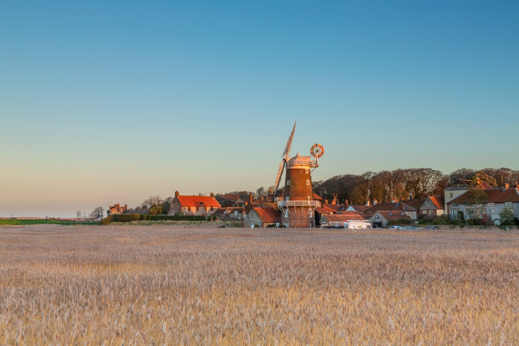 Cley Next the Sea winter