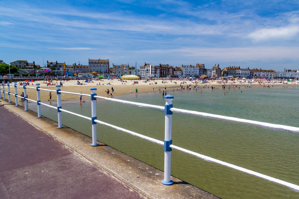 Weymouth Beach Dorset England UK Europe