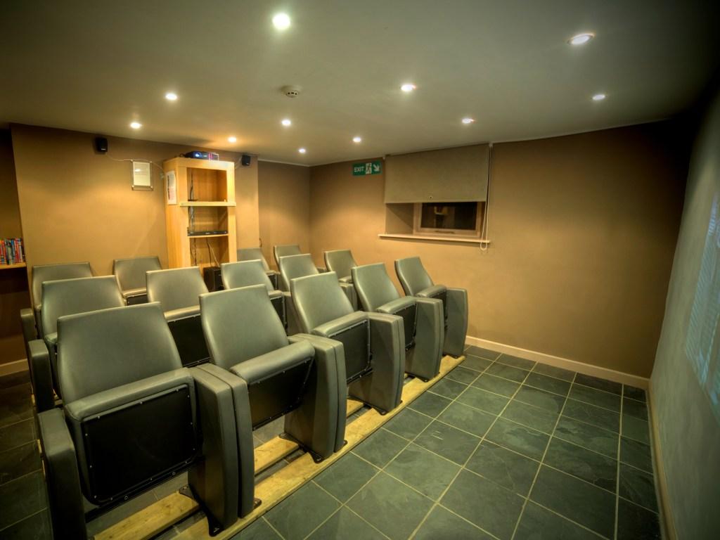 Home cinema room holiday cottage