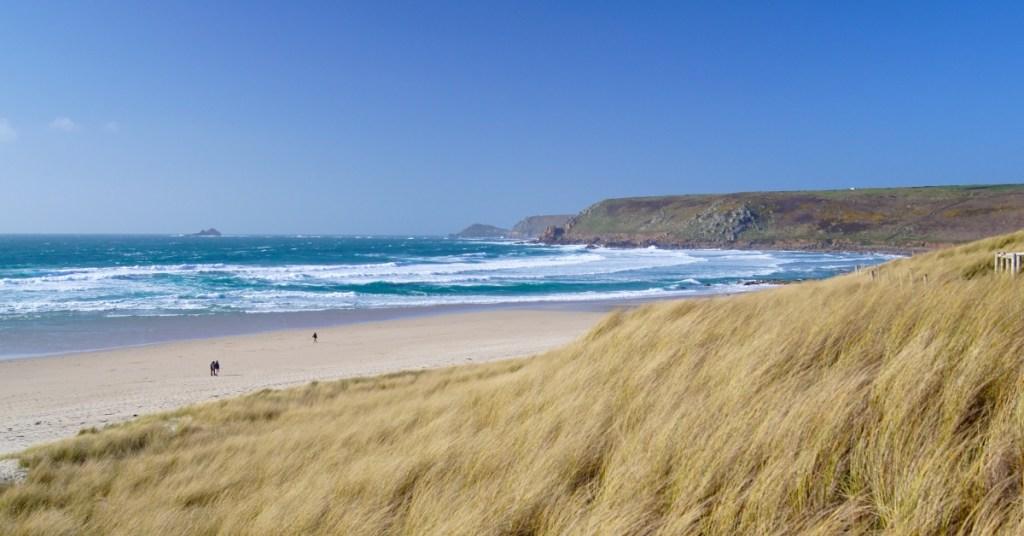 Gwenver Beach Cornwall