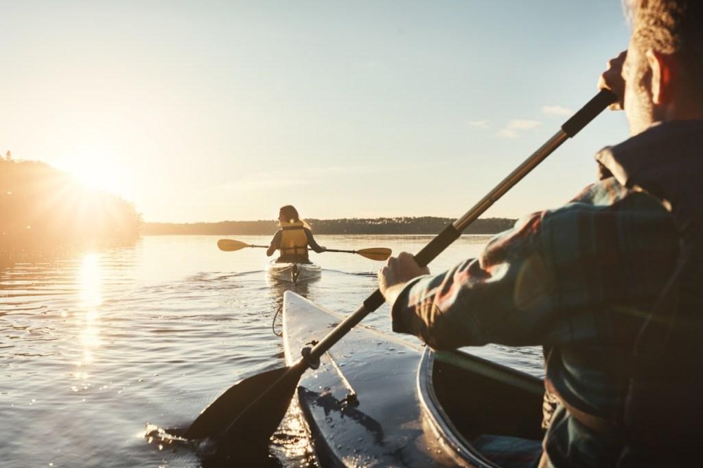Kayaking New Year