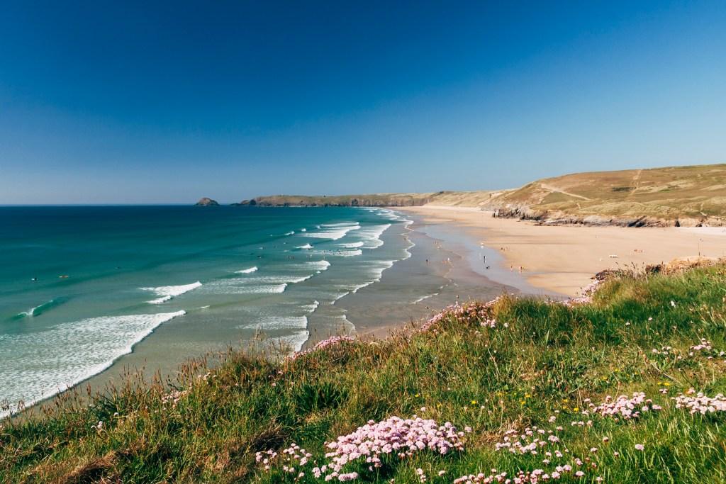 Dog friendly beach Cornwall