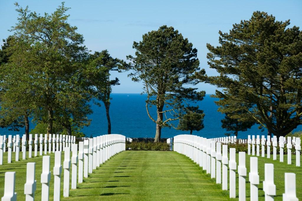 Normandy American Cemetery, Colleville-sur-Mer