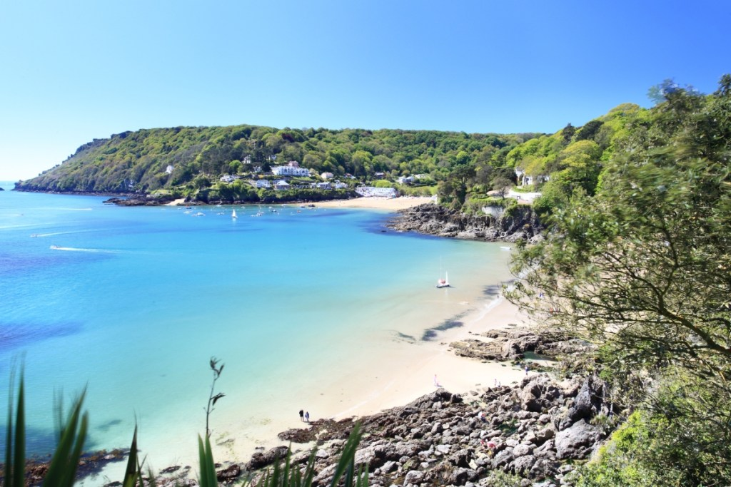 Devon beach summer