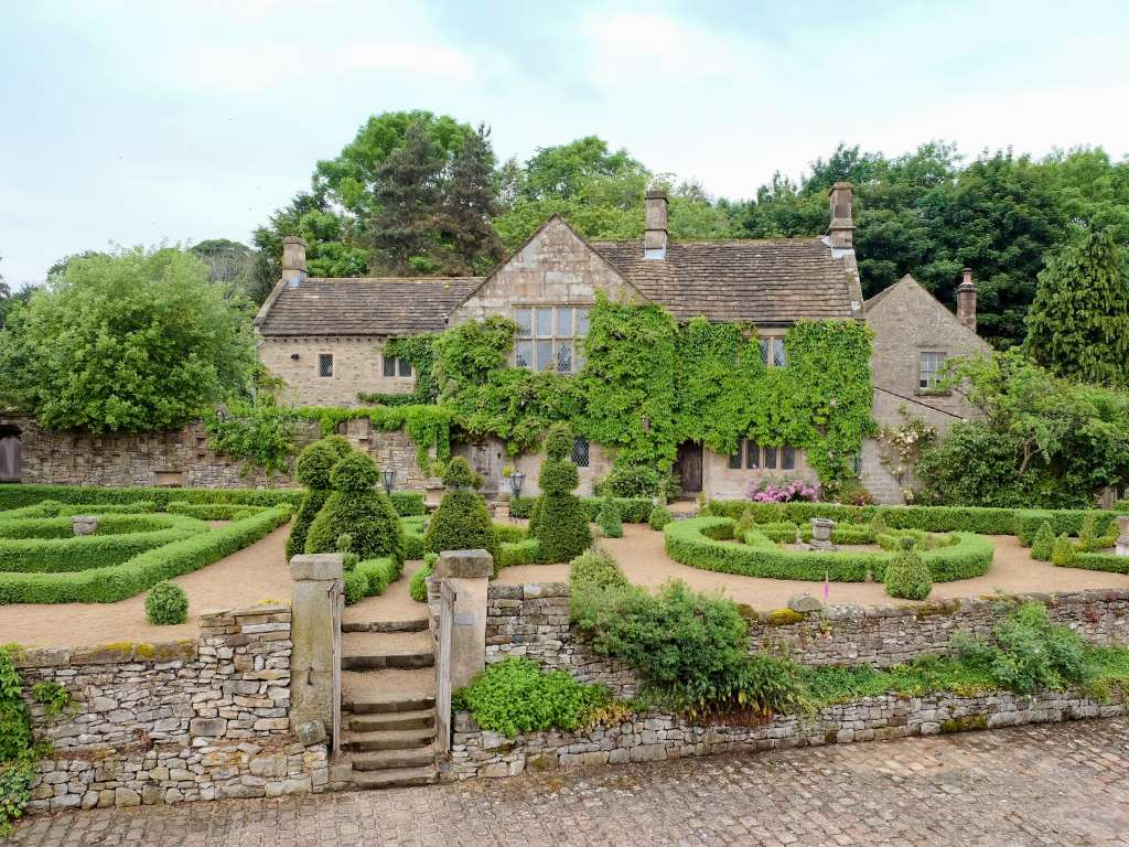 The Manor House near Bakewell, Derbyshire