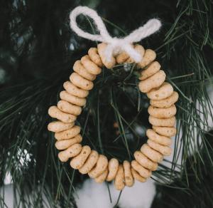 DIY cereal ornaments