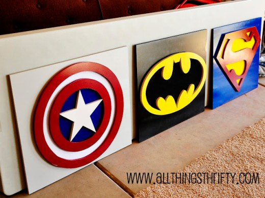 Captain America Wall Art