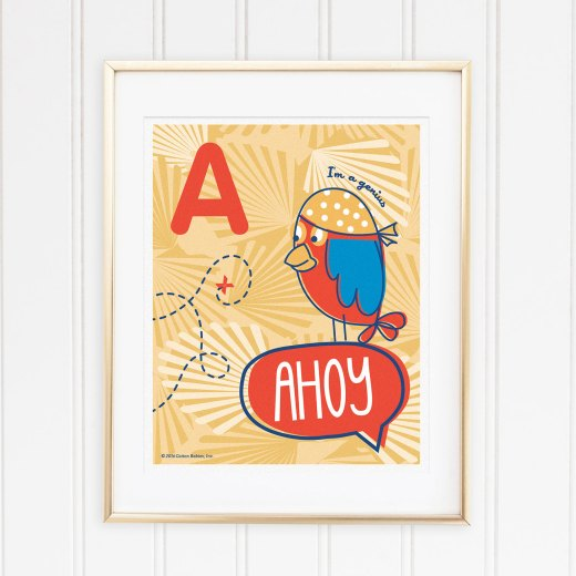 Genius Series Art Print - Letter A