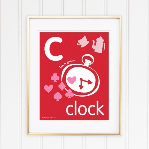 Genius Series Art Print - Letter C