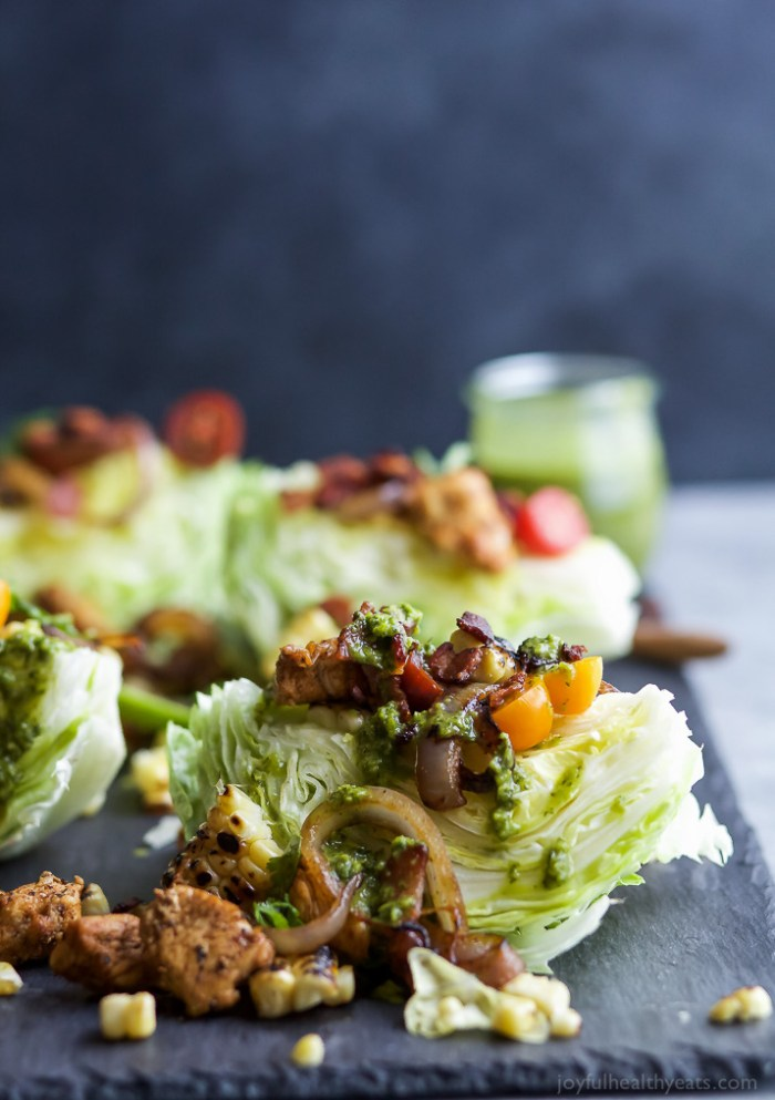 Southwestern Cobb Wedge Salad
