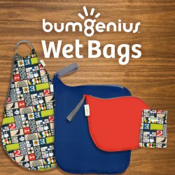 All sizes of wet bags