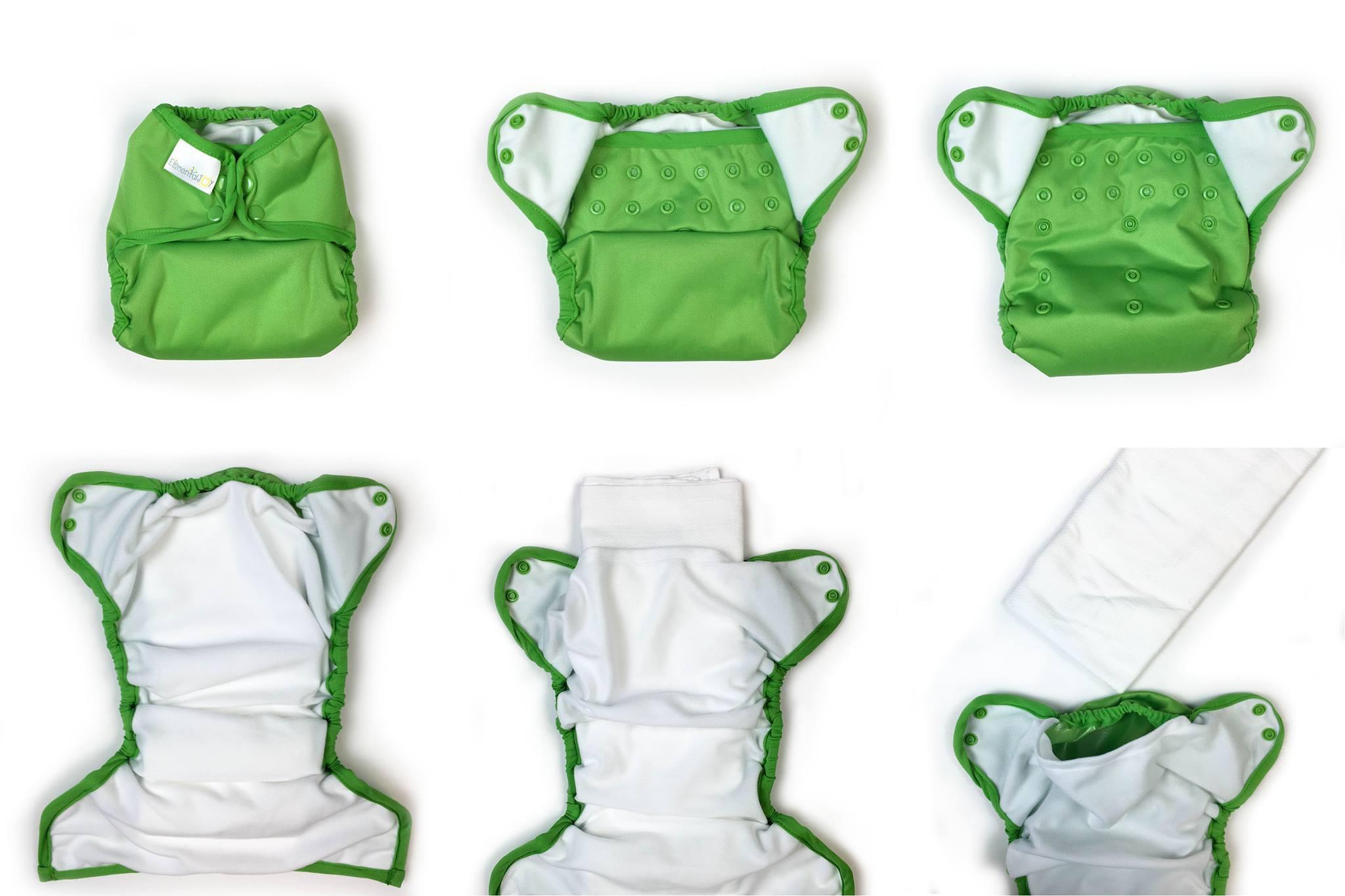 Inside Elemental Joy Diaper
