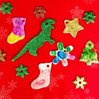 Super Salt Dough Ornaments