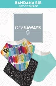 bandana bibs giveaway