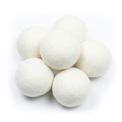 6 pack - wool dryer balls