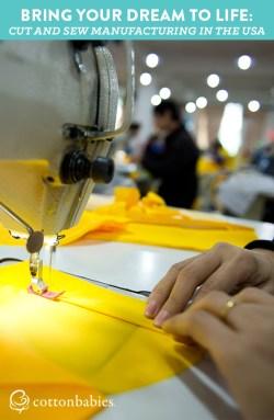 Cut & sew manufacturing in the USA