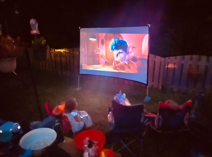 Safety Choice - Outdoor Movie Night
