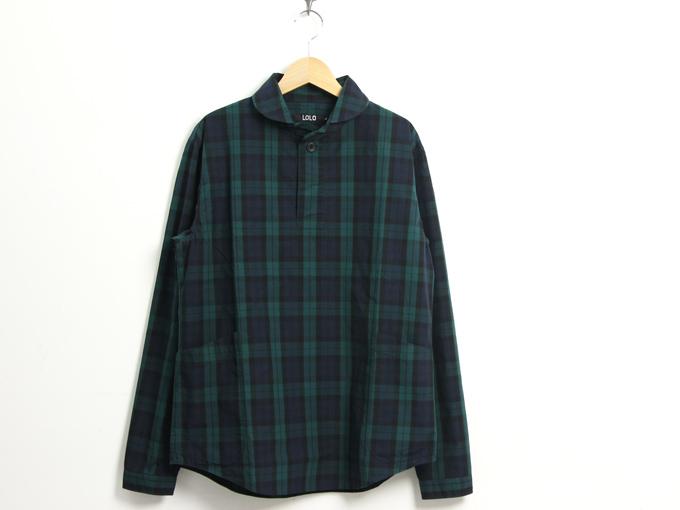 LOLO (ロロ) 別注定番プルオーバーシャツ