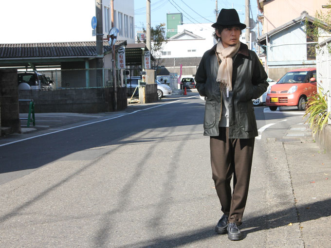 BARBOUR (バブアー) Bedale Slim Fit
