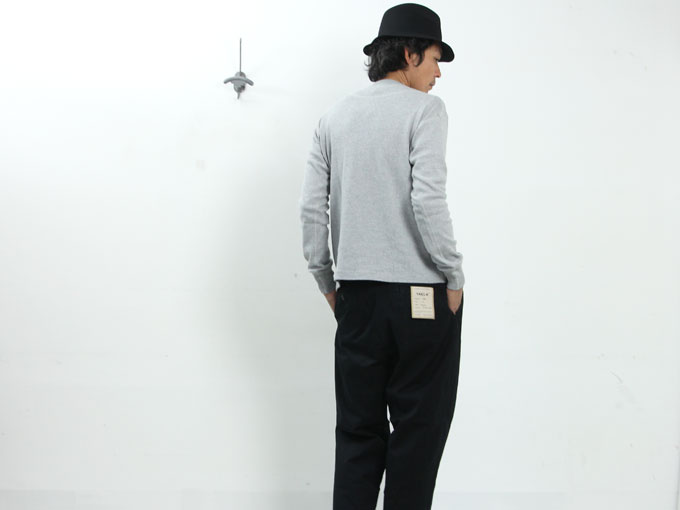 YAECA(ヤエカ) STOCK LINKING KNIT PULL OVER