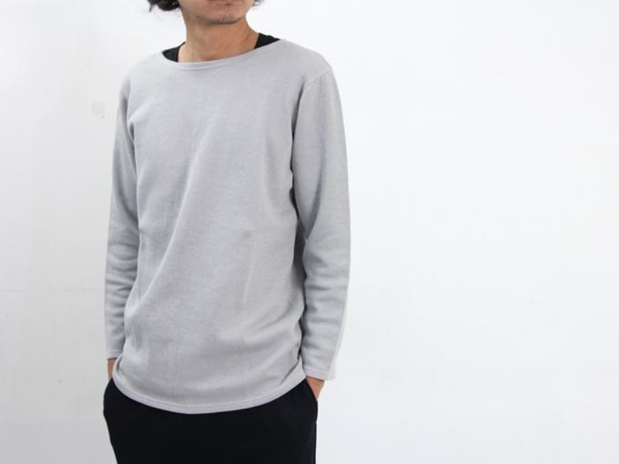 yohaku (ヨハク) Cotyle別注 boat neck l/s tee