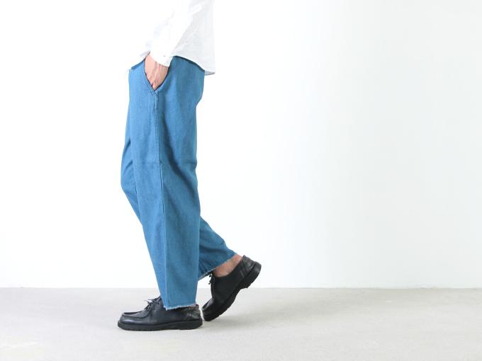 MASTER & Co.(マスターアンドコー) CUT OFF DENIM PANTS