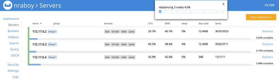 Couchbase Server Rebalance