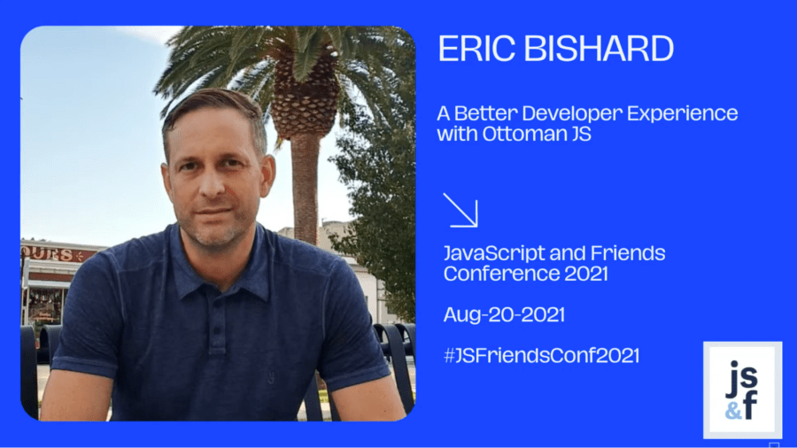Eric Bishard's talk on Ottoman JS at the JavaScript and Friends conference