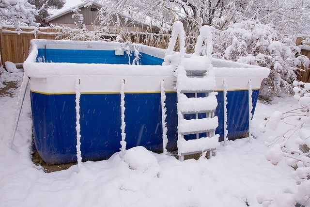 Is your swimming pool ready for the winter? Photo Credit: Flickr