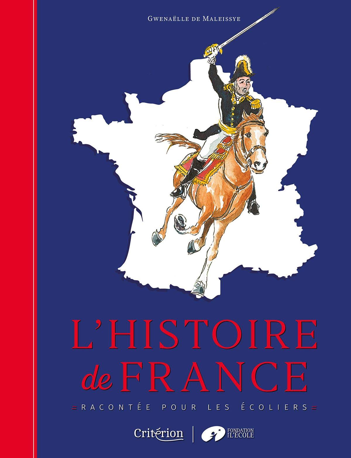Histoire de France racontée pour les écoliers