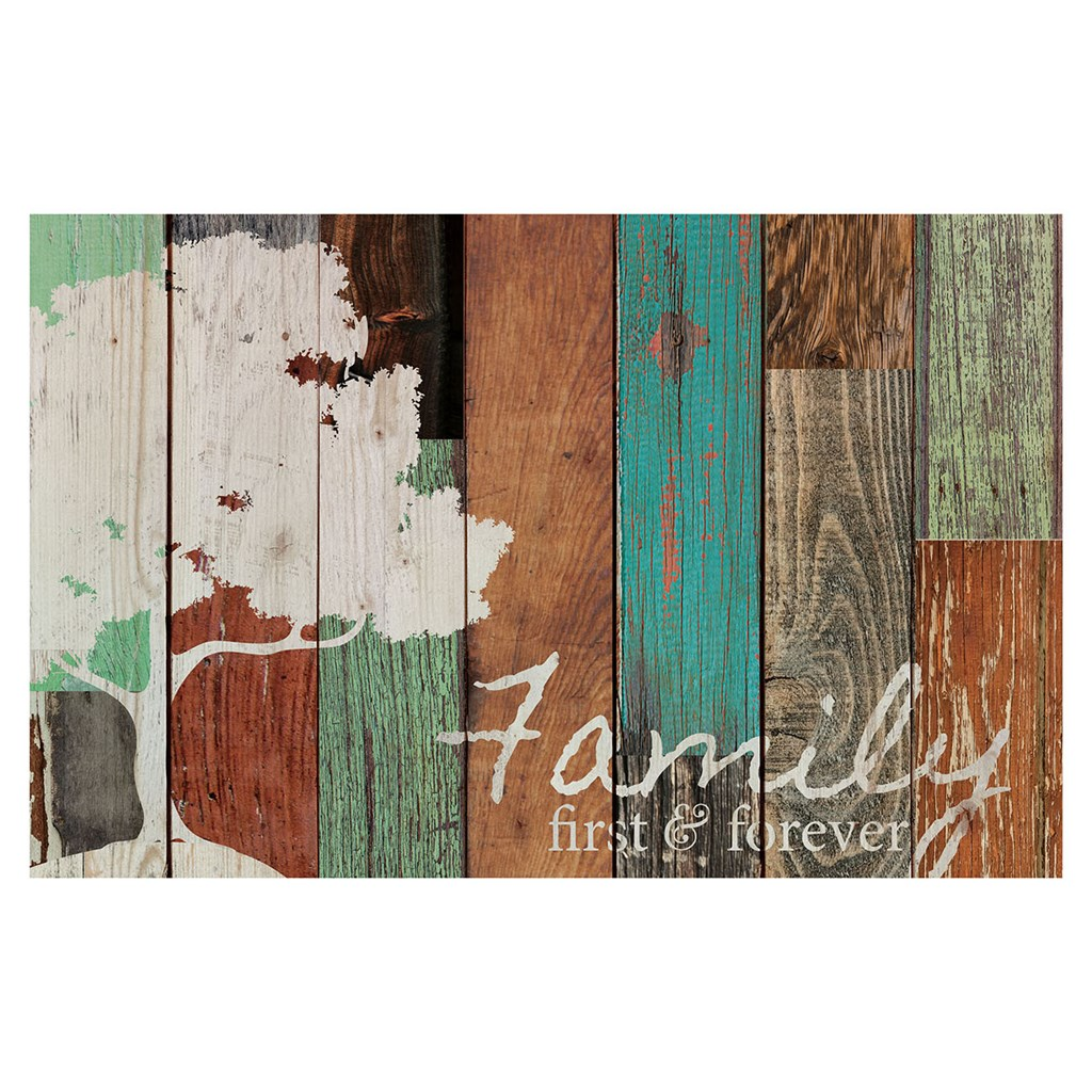"""Family First & Forever"" Pallet Wall Decor"